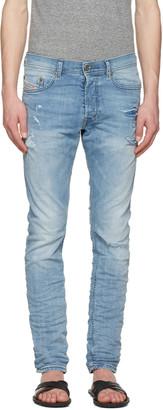 Diesel Blue Tepphar Jeans $230 thestylecure.com