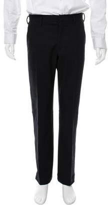 Prada Sport Flat Front Wool Pants
