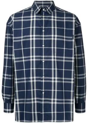 GUILD PRIME boxy plaid shirt