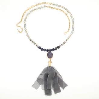 BIJOUX BAR Bijoux Bar Womens Multi Color Beaded Necklace