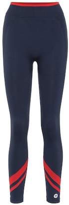Tory Sport Chevron seamless leggings