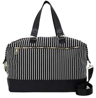 Madden-Girl Striped Weekend Bag