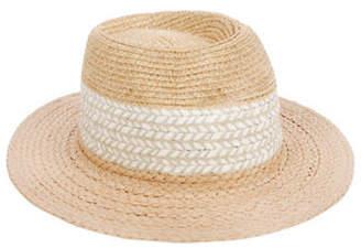 Nine West Textured Panama Hat