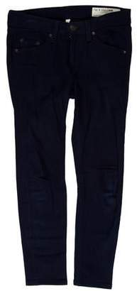 Rag & Bone Capri Low-Rise Jeans