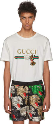 Gucci Off-White Patch T-Shirt