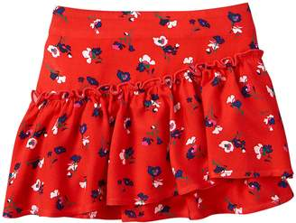 Crazy 8 Crazy8 Floral Ruffle Skirt