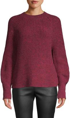 French Connection Marled Cotton Blend Sweater