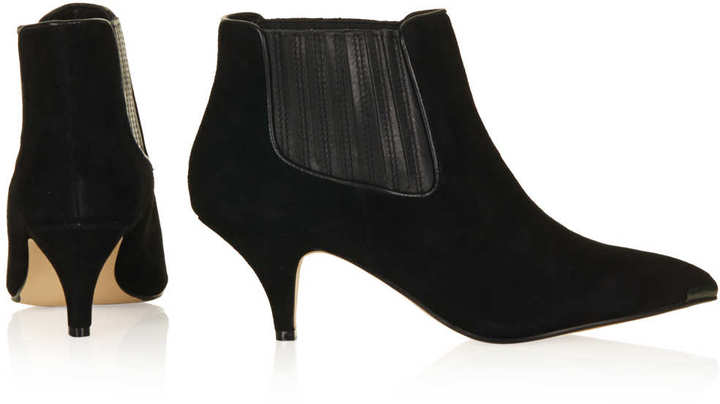 Topshop ALBERTINA Point Chelsea Boots