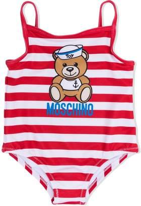 Moschino Kids teddy bear print swimsuit