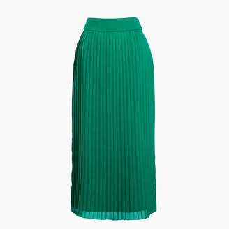 J.Crew Factory Long pleated midi skirt
