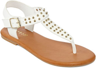 Bamboo Thrive Studded Thong Sandals $50 thestylecure.com
