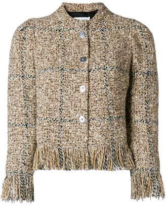 Sonia Rykiel tweed button jacket