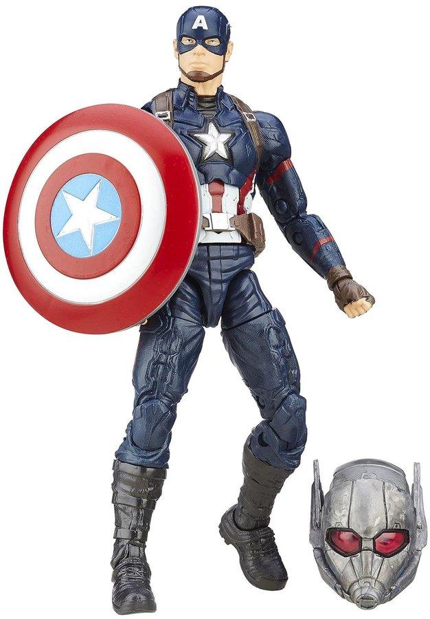 Captain America Lead Hero Combatant Blue