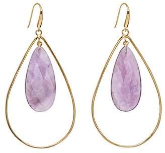Lola Rose Women Purple Coral Dangle and Drop Earrings 697583