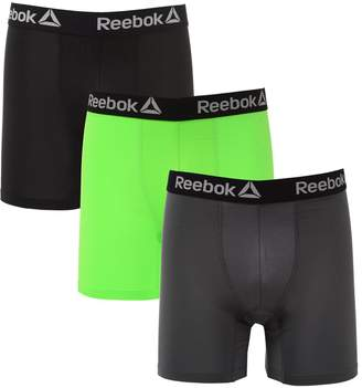 Reebok Mens 3 Pack Performance Boxer Briefs S