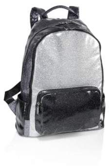 Bari Lynn Tricolor School Backpack