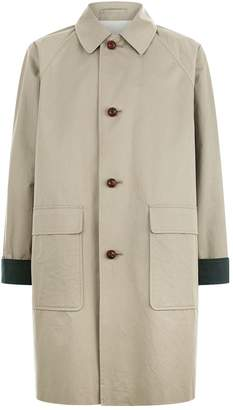 Burberry Bicolour Wool Harrington Jacket