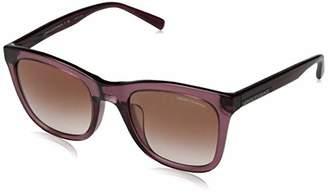 Armani Exchange Women's 0ax4082sf 0AX4082SF Square Sunglasses
