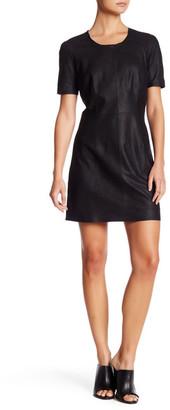 Muubaa Crew Neck Short Sleeve Mini Dress $399 thestylecure.com