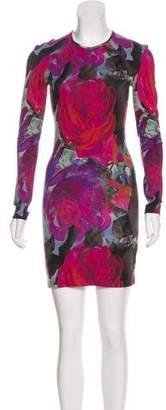 Christopher Kane Printed Bodycon Dress