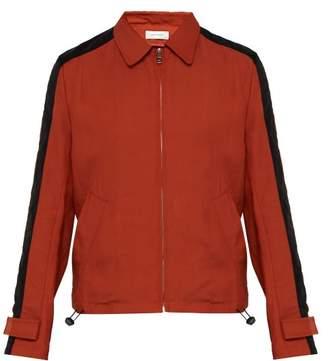 da82464d8 Wales Bonner Striped Sleeve Twill Blouson Jacket - Mens - Red