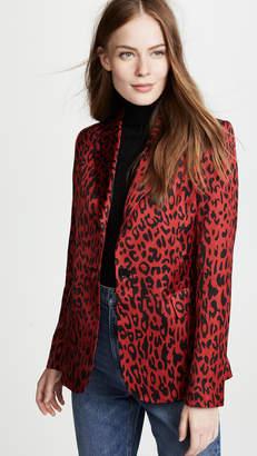 Robert Rodriguez Leopard Blazer