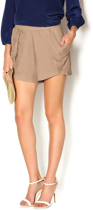 Bishop + Young Mocha Tulip Shorts