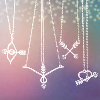 J&S Jewellery Heart And Arrow Necklace Collection