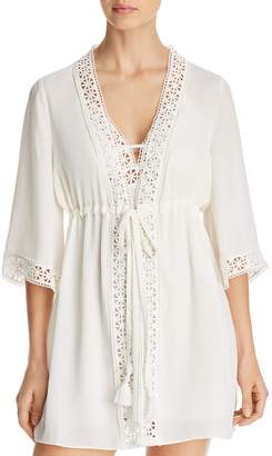 Flora Nikrooz Nina Crepe Cover-Up Robe