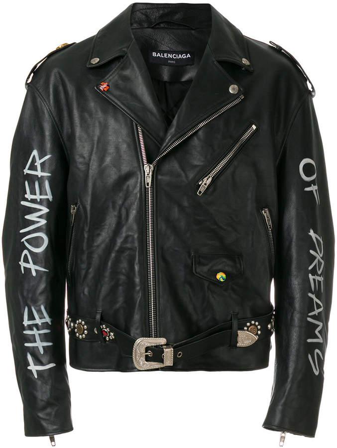 Balenciaga Bal Personalized Jacket