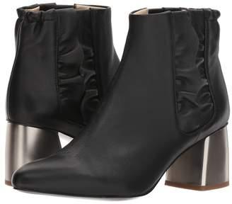 Jil Sander Navy JN30065 Women's Zip Boots