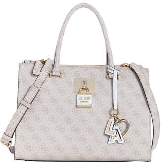 GUESS SG729606STO Downtown Cool Double Handle Satchel