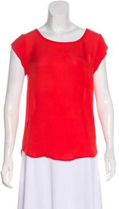 Joie Silk Cap Sleeve Top