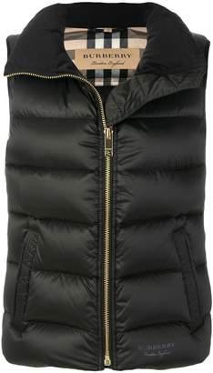 Burberry padded vest