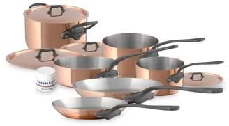 Mauviel 10-Piece Copper Cookware Set