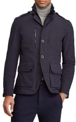 Ralph Lauren Purple Label RLX Bayston Down-Panel Sports Jacket
