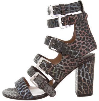 Laurence Dacade Leather Dana Sandals w/ Tags $275 thestylecure.com