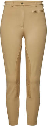 Burberry Presteigne Cropped Pants with Leather