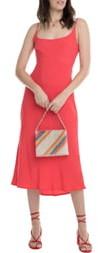 ASTR the Label Joan Scoop Neck Midi Dress
