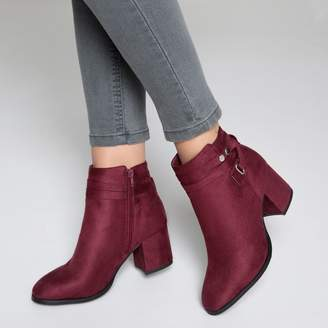 La Redoute Collections Boots with Ankle Straps
