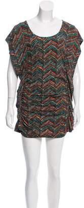 MICHAEL Michael Kors Sleeveless Printed Mini Dress