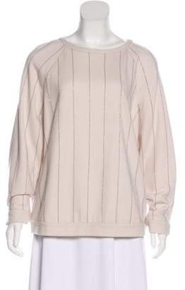Brunello Cucinelli Monili-Accented Cashmere Sweater