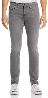 J Brand Tyler Taper Athletic Fit Jeans in Gray Luna