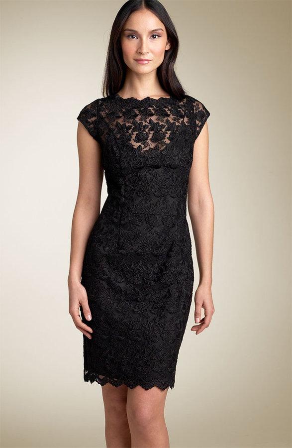Chetta B by Sherrie Bloom & Peter Noviello Lace Sheath Dress