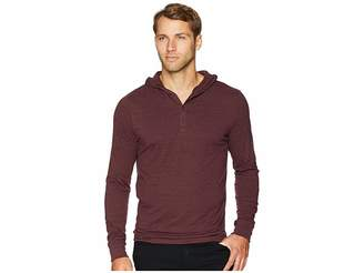 Threads 4 Thought Tri-Blend Jersey Henley Hoodie