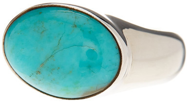 Exex Design Jewelry Sterling Silver Miami Gardens Turquoise Ring