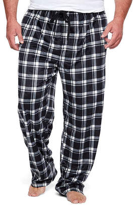 Co THE FOUNDRY SUPPLY The Foundry Big & Tall Supply Mens Big and Tall Microfleece Pajama Pants
