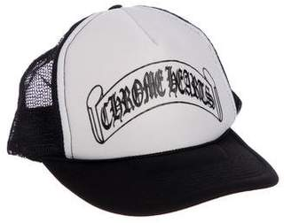 Chrome Hearts Logo Trucker Hat