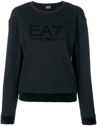 Emporio Armani Ea7 crew neck logo jumper