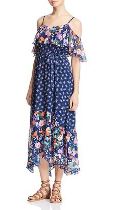 Beltaine Floral Print Cold-Shoulder Maxi Dress - 100% Exclusive $198 thestylecure.com